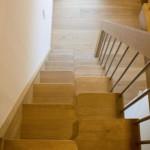 Treppe wenig Platz