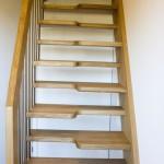 platzsparende Stiege Treppe