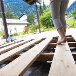 Terrasse Holz Lärche